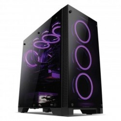 INFINITY Space Gate Temper Glass FULL Tower - non Psu