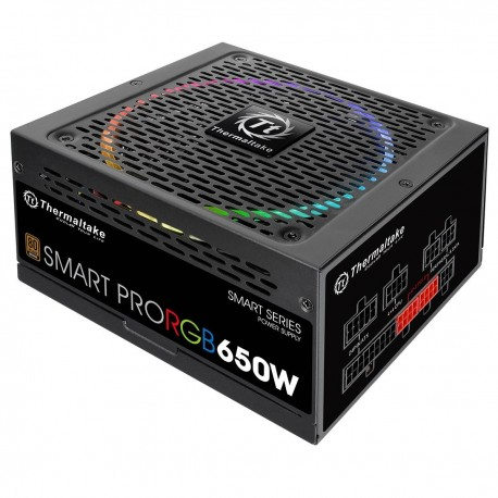 Thermaltake Smart Pro RGB 650W 80 + Bronze Full Modular - 650w