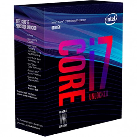 Intel Core I7 8700K 4.7 Ghz CofeeLake - 1151-CFL