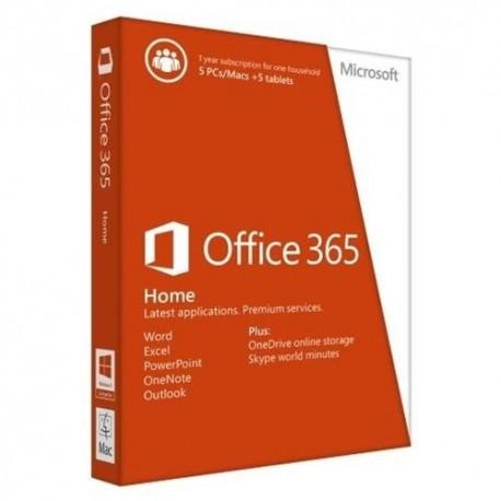 Microsoft Office 365 Home Premium 1 Year  OEM 32/64 Bit