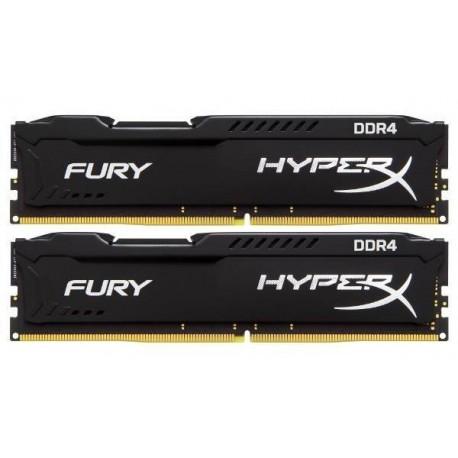 Kingston Hyper Fury 8GB (2x4) PC19200/2400mhz DDR4