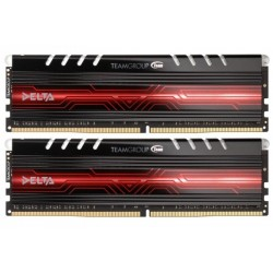 Team Delta 8GB DDR4 (2X4GB) 2400mhz XMP