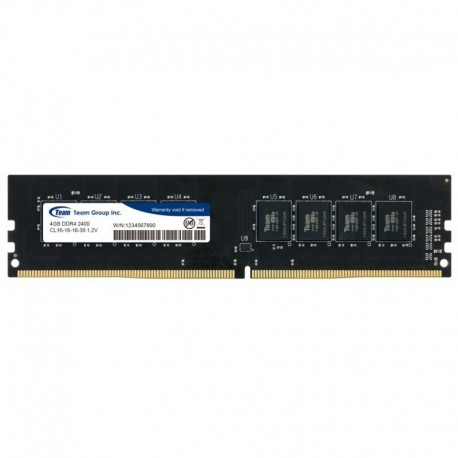 TEAM Elite 4GB Ddr3 PC12800/1600Mhz