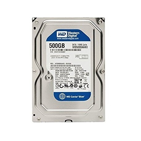 Western Digital BLUE 3.5 Inch sata 3 - 500GB