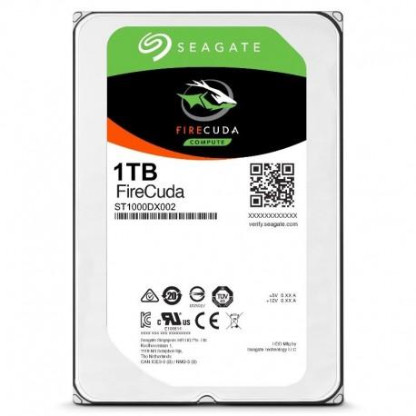 SSHD (SSD+HDD) Seagate 3.5 Inch - 1TB