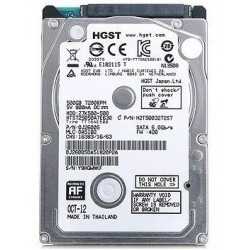 HGST Hitachi 2.5 Inch sata 3 - 500 GB Laptop