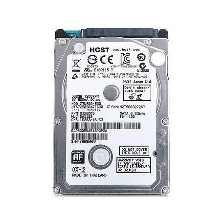 HGST Hitachi 2.5 Inch sata 3 - 500 GB Laptop