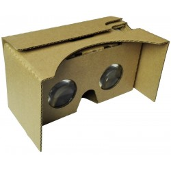 Cardboard Virtual Reality for Smartphone (Silver magnet)