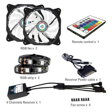 alseye CLS-200E RGB KIT 12cm FAN+EXTENSION LED