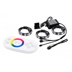 Deep cool RGB 380 color LED Strip Light with remote