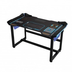 Meja Gaming E-Blue Cobra War Machine Lighting Wireless Desk