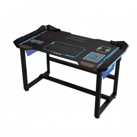 Meja Gaming E-Blue Cobra War Machine Lighting Wireless Desk