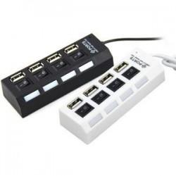 USB Hub 4 Port Saklar