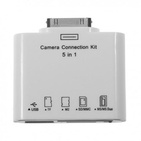 Card Reader + USB OTG for Apple iPad Iphone ipod