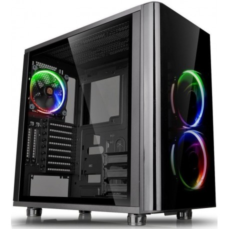 Thermaltake View 31 RGB Tempered Glass Edition Mid Tower Chassis  - non Psu