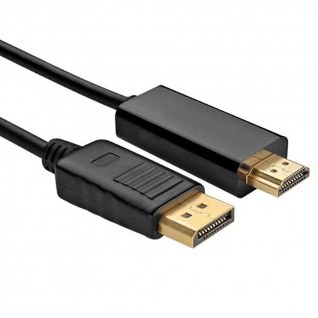 KABEL Display Port MALE to HDMI MALE 5M