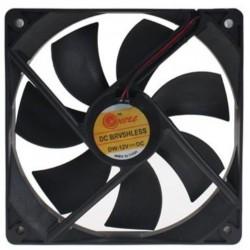 Fan hitam 8 cm