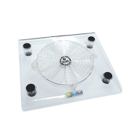Notebook Colling Pad 1 fan transparan