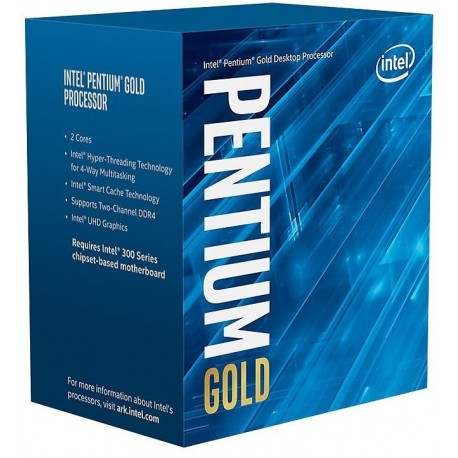 Intel Pentium G5400 3.7Ghz CofeeLake - 1151-CFL