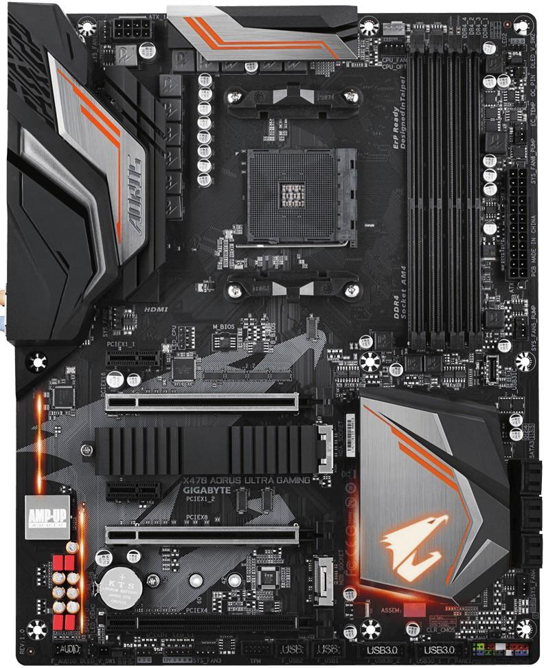harga jual motherboard Gigabyte AMD Gigabyte X470 AORUS
