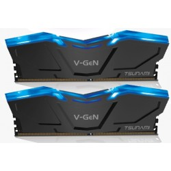 V-GEN TSUNAMI LED 8GB DDR4 (2X4) 2666MHZ CL 16-18-18-35