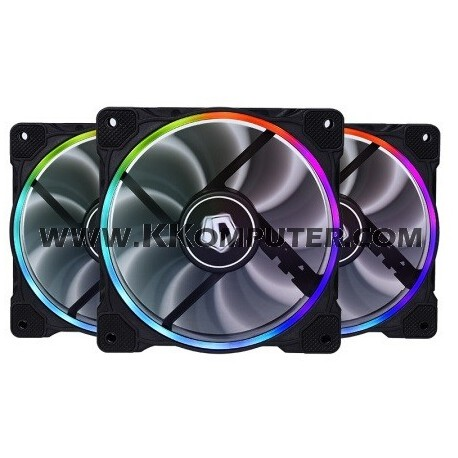 ID COOLING ZF 12025 RING RGB TRIO