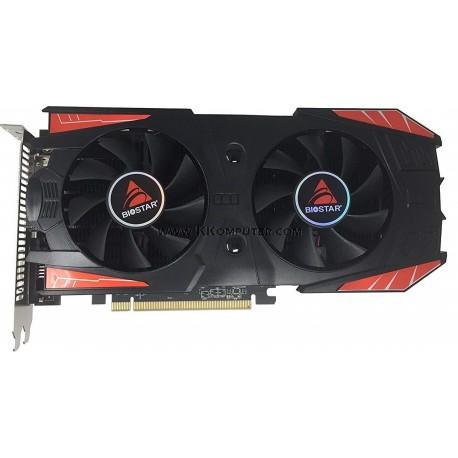 BIOSTAR RX560 4GB 128BIT DDR4 VA5605RF41 (Dual Cooling)