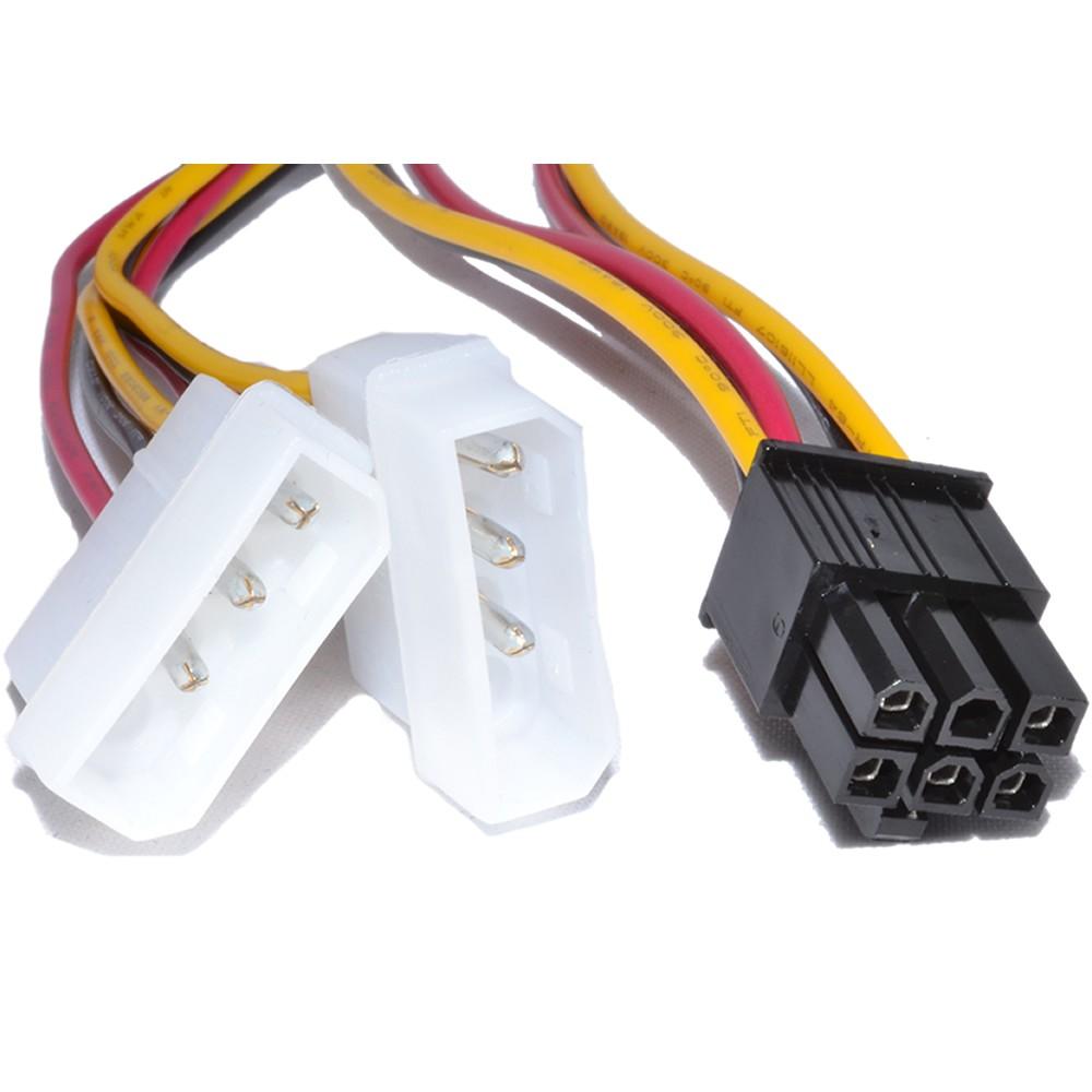 Kabel Cable Kios Komputer Vga 10m Nyk Converter Pci Express 6pin