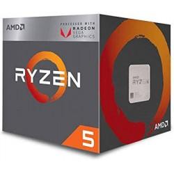 AMD RYZEN 5 3400G 4CORE 3.7 GHz - AM4