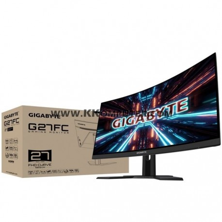LED GIGABYTE G27FC 27INC CURVE-165HZ-1MS-FREESYNC-FHD