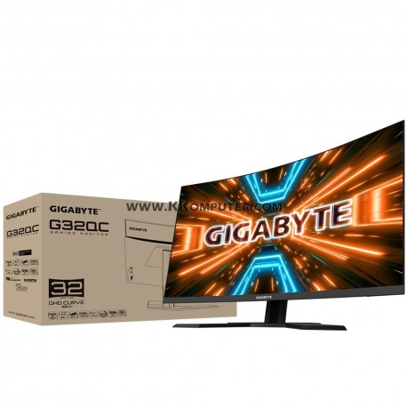 LED GIGABYTE G32QC 32INC CURVE-165HZ-1MS-FREESYNC-QHD