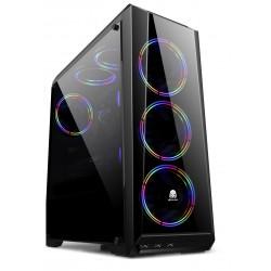 DA GAMING N21 BLACK FREE 3 FAN RGB