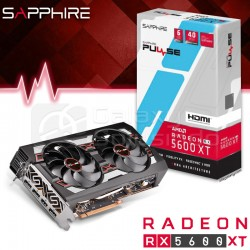 SAPHIRE RX5600 XT PULSE OC BE 6GB GDRR6 256BIT