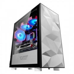 CASING PC AIGO DLM21 DARKFLASH WHITE TEMPERED MICRO