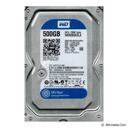 HDD WD BLUE 500GB 3.5INCH