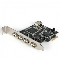 4 Port Pci Express To Usb2.0 Host Controller Adapter Card