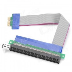 PCI-E Express 16X to 1X Riser Extension Cable 15cm