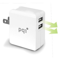 Charger/Adaptor PQI USB 3.4A - 2 Output